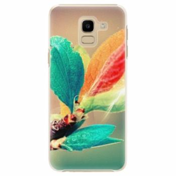 Plastové pouzdro iSaprio - Autumn 02 - Samsung Galaxy J6
