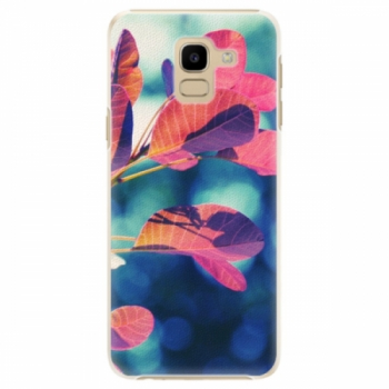 Plastové pouzdro iSaprio - Autumn 01 - Samsung Galaxy J6