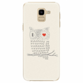 Plastové pouzdro iSaprio - I Love You 01 - Samsung Galaxy J6