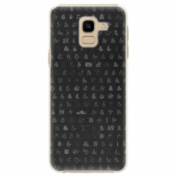Plastové pouzdro iSaprio - Ampersand 01 - Samsung Galaxy J6
