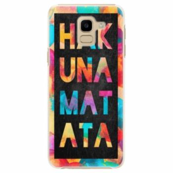 Plastové pouzdro iSaprio - Hakuna Matata 01 - Samsung Galaxy J6