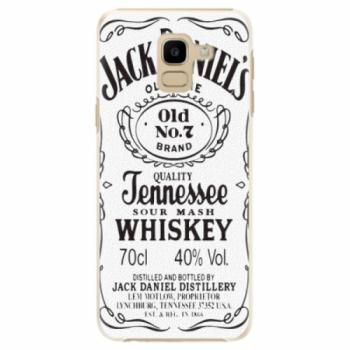Plastové pouzdro iSaprio - Jack White - Samsung Galaxy J6