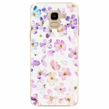 Plastové pouzdro iSaprio - Wildflowers - Samsung Galaxy J6