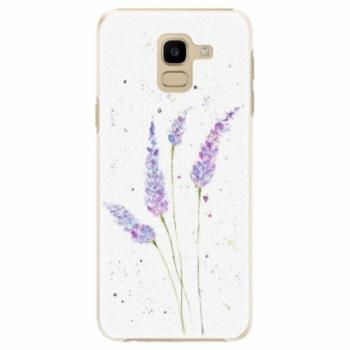 Plastové pouzdro iSaprio - Lavender - Samsung Galaxy J6