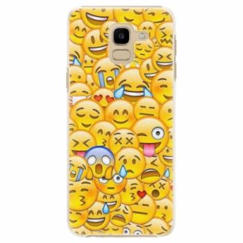Plastové pouzdro iSaprio - Emoji - Samsung Galaxy J6