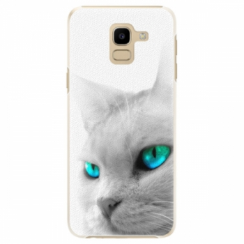 Plastové pouzdro iSaprio - Cats Eyes - Samsung Galaxy J6