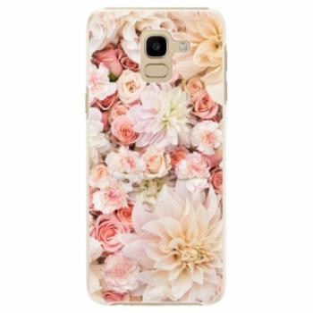 Plastové pouzdro iSaprio - Flower Pattern 06 - Samsung Galaxy J6