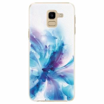 Plastové pouzdro iSaprio - Abstract Flower - Samsung Galaxy J6