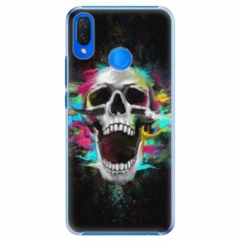Plastové pouzdro iSaprio - Skull in Colors - Huawei Nova 3i