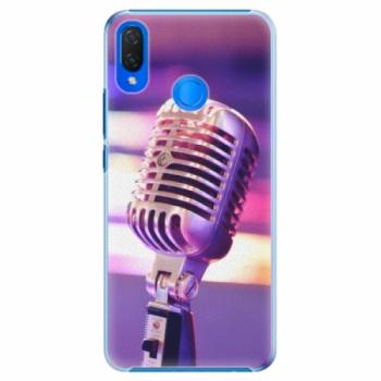Plastové pouzdro iSaprio - Vintage Microphone - Huawei Nova 3i
