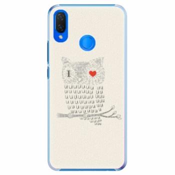 Plastové pouzdro iSaprio - I Love You 01 - Huawei Nova 3i