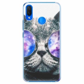Plastové pouzdro iSaprio - Galaxy Cat - Huawei Nova 3i
