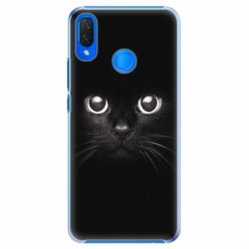 Plastové pouzdro iSaprio - Black Cat - Huawei Nova 3i