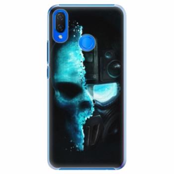 Plastové pouzdro iSaprio - Roboskull - Huawei Nova 3i