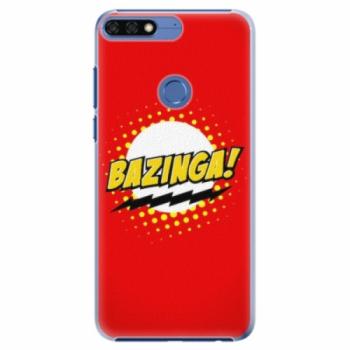 Plastové pouzdro iSaprio - Bazinga 01 - Huawei Honor 7C