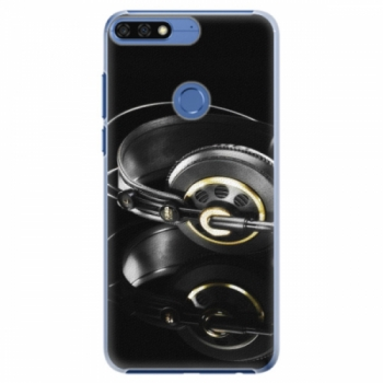 Plastové pouzdro iSaprio - Headphones 02 - Huawei Honor 7C