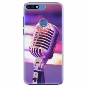 Plastové pouzdro iSaprio - Vintage Microphone - Huawei Honor 7C