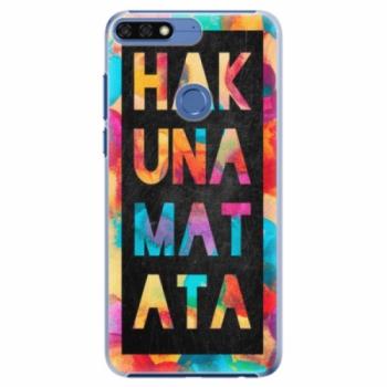 Plastové pouzdro iSaprio - Hakuna Matata 01 - Huawei Honor 7C