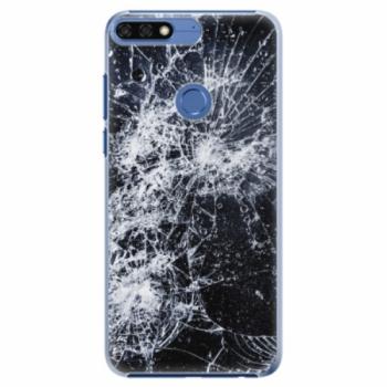 Plastové pouzdro iSaprio - Cracked - Huawei Honor 7C