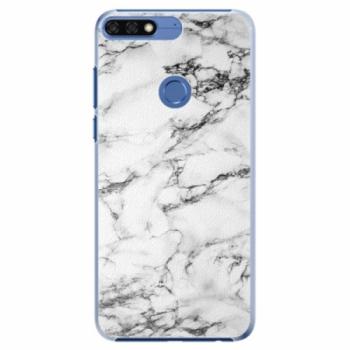 Plastové pouzdro iSaprio - White Marble 01 - Huawei Honor 7C