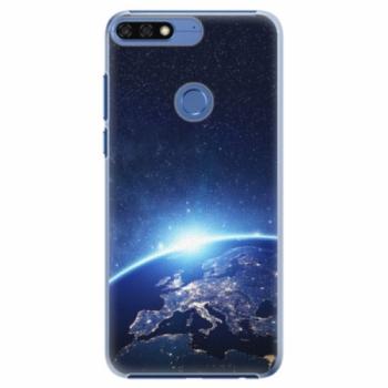 Plastové pouzdro iSaprio - Earth at Night - Huawei Honor 7C
