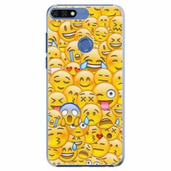 Plastové pouzdro iSaprio - Emoji - Huawei Honor 7C