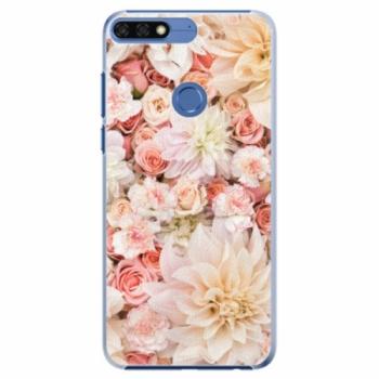 Plastové pouzdro iSaprio - Flower Pattern 06 - Huawei Honor 7C