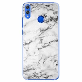 Plastové pouzdro iSaprio - White Marble 01 - Huawei Honor 8X