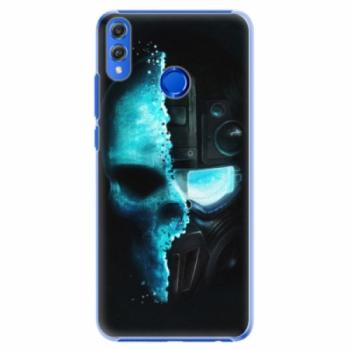 Plastové pouzdro iSaprio - Roboskull - Huawei Honor 8X