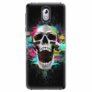 Plastové pouzdro iSaprio - Skull in Colors - Nokia 3.1