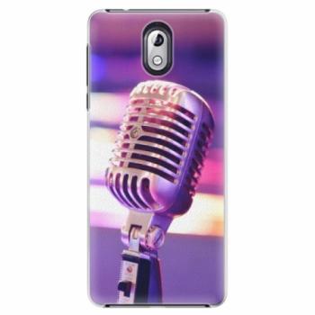 Plastové pouzdro iSaprio - Vintage Microphone - Nokia 3.1