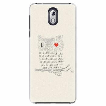 Plastové pouzdro iSaprio - I Love You 01 - Nokia 3.1