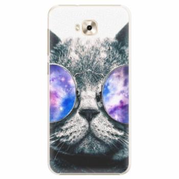 Plastové pouzdro iSaprio - Galaxy Cat - Asus ZenFone 4 Selfie ZD553KL