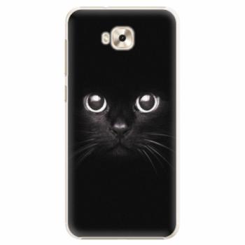 Plastové pouzdro iSaprio - Black Cat - Asus ZenFone 4 Selfie ZD553KL