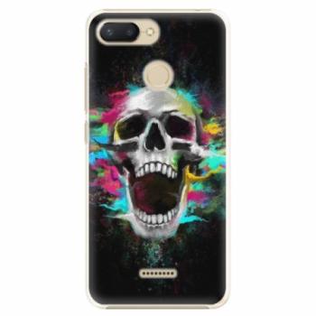 Plastové pouzdro iSaprio - Skull in Colors - Xiaomi Redmi 6