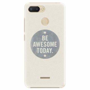 Plastové pouzdro iSaprio - Awesome 02 - Xiaomi Redmi 6