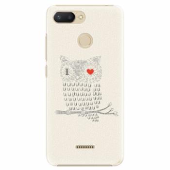 Plastové pouzdro iSaprio - I Love You 01 - Xiaomi Redmi 6