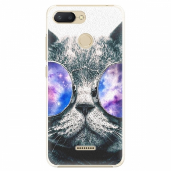 Plastové pouzdro iSaprio - Galaxy Cat - Xiaomi Redmi 6