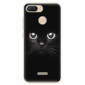 Plastové pouzdro iSaprio - Black Cat - Xiaomi Redmi 6