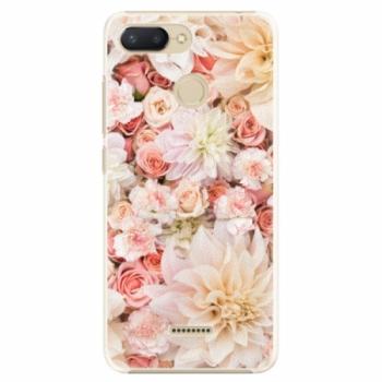 Plastové pouzdro iSaprio - Flower Pattern 06 - Xiaomi Redmi 6