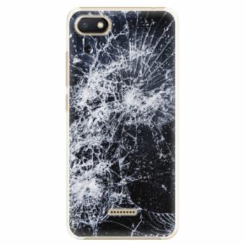 Plastové pouzdro iSaprio - Cracked - Xiaomi Redmi 6A