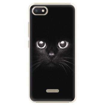 Plastové pouzdro iSaprio - Black Cat - Xiaomi Redmi 6A
