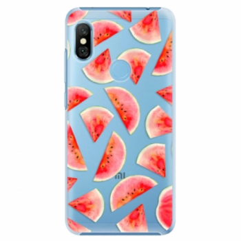 Plastové pouzdro iSaprio - Melon Pattern 02 - Xiaomi Redmi Note 6 Pro