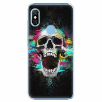 Plastové pouzdro iSaprio - Skull in Colors - Xiaomi Redmi Note 6 Pro