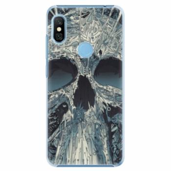 Plastové pouzdro iSaprio - Abstract Skull - Xiaomi Redmi Note 6 Pro