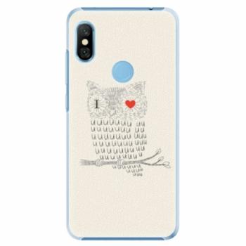 Plastové pouzdro iSaprio - I Love You 01 - Xiaomi Redmi Note 6 Pro