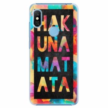Plastové pouzdro iSaprio - Hakuna Matata 01 - Xiaomi Redmi Note 6 Pro