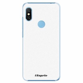 Plastové pouzdro iSaprio - 4Pure - bílý - Xiaomi Redmi Note 6 Pro