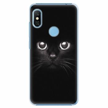 Plastové pouzdro iSaprio - Black Cat - Xiaomi Redmi Note 6 Pro