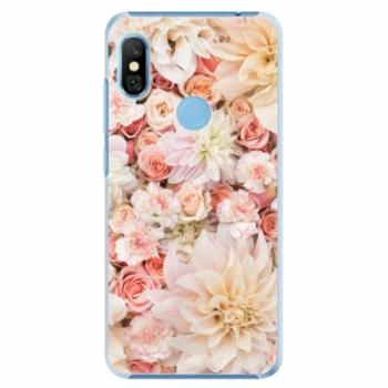 Plastové pouzdro iSaprio - Flower Pattern 06 - Xiaomi Redmi Note 6 Pro